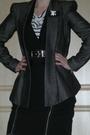 White-h-m-t-shirt-black-river-island-jacket-black-warehouse-skirt-beige-pe