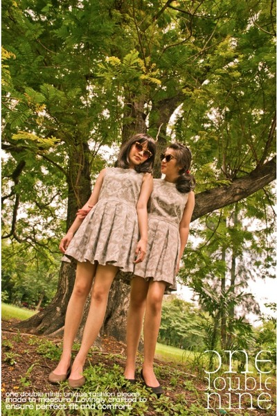 light brown ONE DOUBLE NINE dress