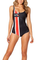 Mass Effect Swimsuit