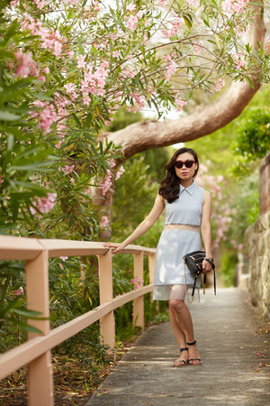 Dust Fairy dress - Rebecca Minkoff bag - Celine sunglasses