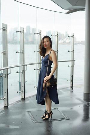 keepsake dress - Gucci scarf - Rebecca Minkoff bag - Aldo heels