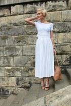 Michael Kors bag - SH skirt - kazar heels - Stradivarius blouse