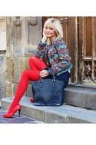 Vissavi jacket - Dudlin bag - Stradivarius skirt - wojas heels