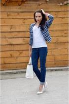 Cubus jacket - Wrangler jeans - Parfois bag - h&m divided t-shirt