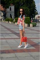 Stradivarius t-shirt - Cubus shorts