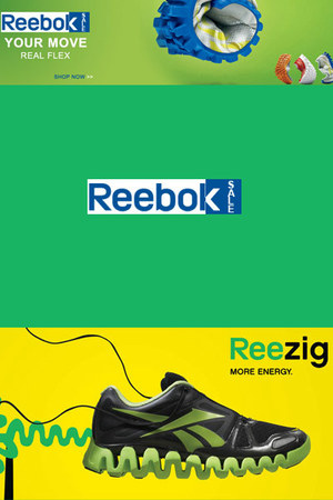 synthetic upper Reebok shoes