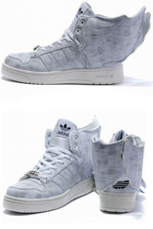 white mesh leather adidas shoes
