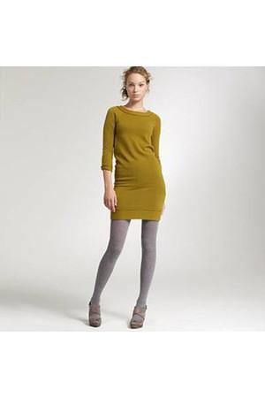 olive green J Crew dress