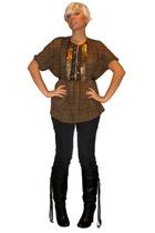 Zara blouse - forever 21 jeans - Bebe shoes