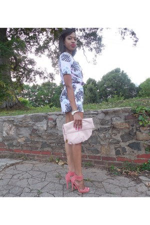 H&M romper - Rag-A-Rama purse - rainbow heels