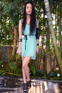 Aquamarine-boutique-dress-black-accessorize-purse-black-aldo-heels