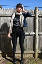 Forever21 blazer - H&M scarf - calvin klein top - Urban Outfitters pants - payle