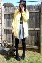 style&co jacket - - AmRag skirt - H&M top - random accessories - Aldo shoes