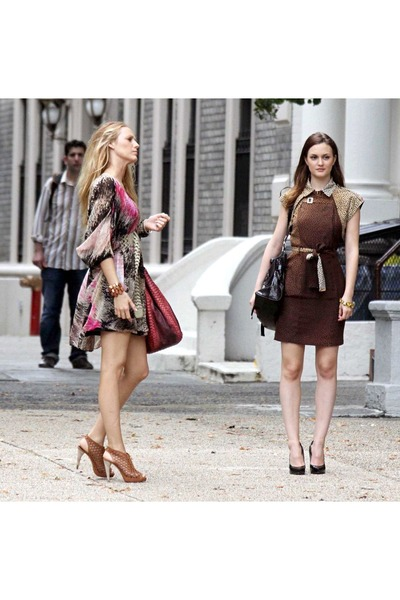 Pink And Brown Dress | But Dress