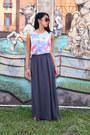 Cutout-primark-top-maxi-skirt-forever21-skirt