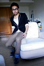 black POA blazer