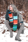 Heather-gray-over-the-knee-aldo-boots-charcoal-gray-blanket-pieces-scarf