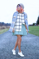 Icy Pastel Plaid