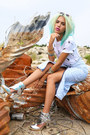 Silver-nasty-gal-boots-white-bottles-t-shirt-ever-made-shirt
