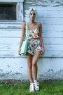 Aquamarine-mint-handbag-la-moda-bag-white-girl-is-gun-romper