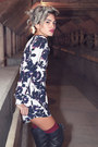 Black-knee-high-boots-nasty-gal-boots-white-floral-playsuit-oh-my-love-romper