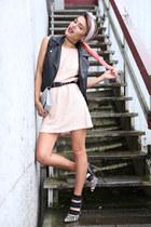 light pink sequin Motel Rocks dress