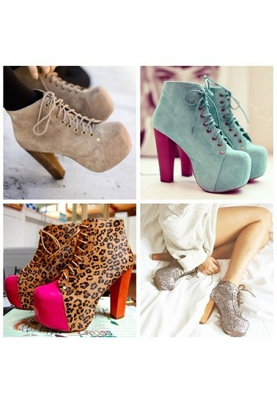 turquoise blue lace up pumps