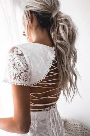 white Xenia Boutique dress - navy Xenia Boutique dress
