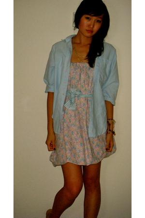 dress - blouse - necklace - dress