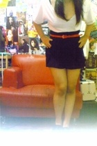 belt - skirt