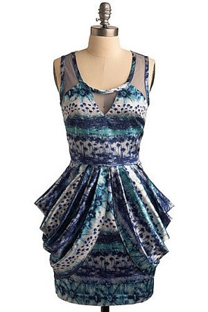 silk vintage dress