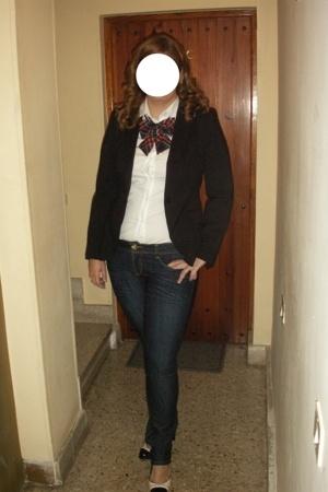 Zara shirt - Bershka jeans - Zara blazer - Zara shoes