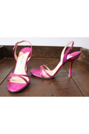 pink Jimmy Choo shoes