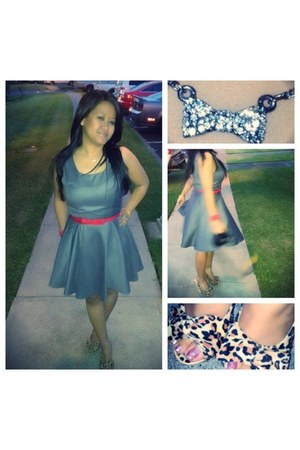 grey Forever 21 dress