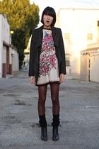 Vivienne Westwood Anglomania blazer - rick owens lilies jacket - vintage dress -