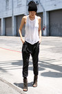Charcoal-gray-marsell-boots-black-asos-hat-white-t-by-alexander-wang-top