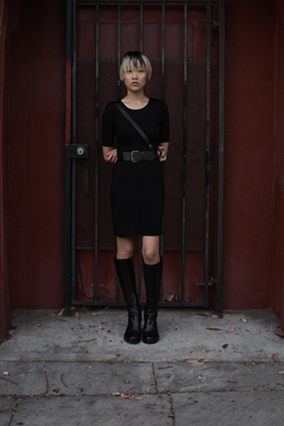 Ann Demeulemester boots - bailey 44 dress