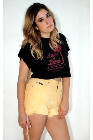 light orange Total Recall Vintage shorts