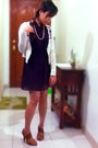 Deep-purple-mirror-dress-ivory-freeway-cardigan-bronze-primadonna-heels