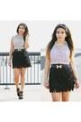 Fringe-bcbg-skirt