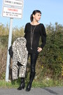 Killah-jacket-uterque-shirt-zara-leggings-pablo-fuster-boots-zara-bag-