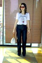 Ona Saez t-shirt - Complot jeans - vintage purse