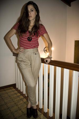 beige Zara pants
