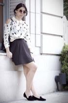 Forever 21 shirt - Forever 21 skirt - Urban Outfitters flats