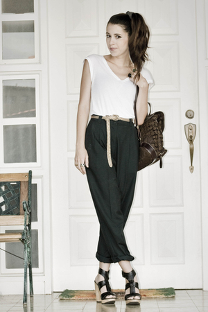 brown Zara shoes
