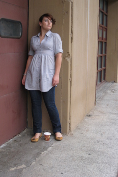 Express jeans - H&M shirt - Chinese Laundry shoes