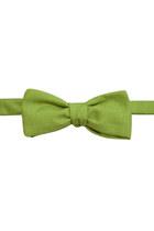 Chartreuse-cotton-bow-tie-equeglitz-tie