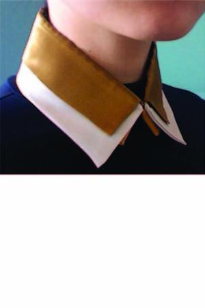 mustard button down Equeglitz accessories - ivory button down Etsy accessories