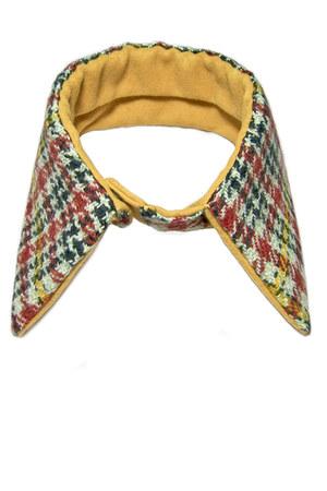 red Equeglitz scarf - gold Equeglitz scarf