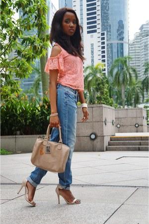 H&M jeans - H&M bag